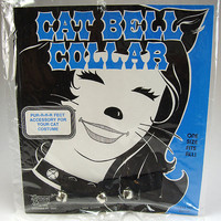 Vintage Cat Bell Collar, Halloween Costume Accessory, One Size Fits All, Forum Novelties, Sexy Kitty