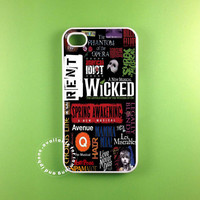 broadway  fit on iphone 5S iphone 5C iphone 5 iphone 4 S samsung galaxy 3 and samsung galaxy s4