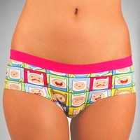 Adventure Time 'Finn Face' Boyshorts