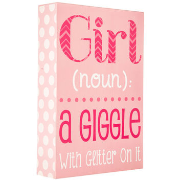 Girl Definition Wall Decor | Hobby Lobby | 5666292