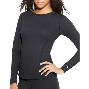 Duofold by Champion Varitherm Women's Thermal Long-Sleeve Shirt Style: KEW3-Black S