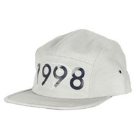 Brilliant 1998 5 Panel Hat in Grey