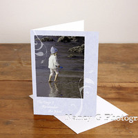"""Greeting Card, Note Card, Beach, Mother's Day, Card, Stationary, Paper Goods, 5""""x7"""" , Card, Greeting Cards, Photography"""