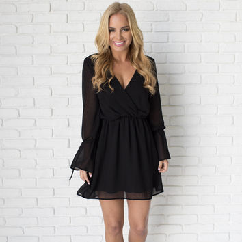 Bells & Bows Little Black Dress