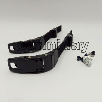 Free Shipping 1 pair Inline Roller Blade Buckle and Buckle Belts Inline Skate shoes clasp/clasp belts FSK fivela Skating shoe fi