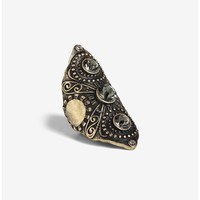 Stone Knuckle Ring