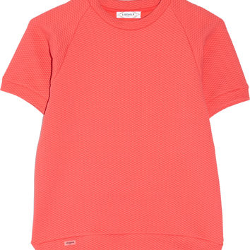 L'Etoile Sport - Textured stretch-jersey tennis top
