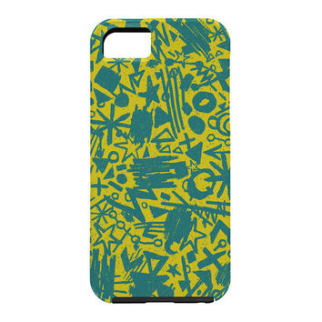 Nick Nelson Gold Synapses Cell Phone Case