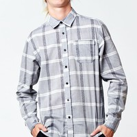 AMBIG Jessie Plaid Long Sleeve Button Up Shirt - Mens Shirts - Blue