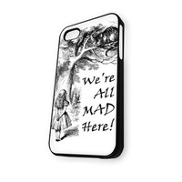 were are mad here sketsa iPhone 4/4S Case