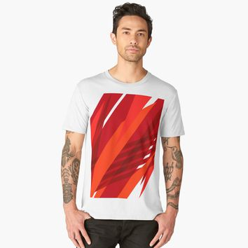 'Abstract Art Hypnotzd #117' Men's Premium T-Shirt by hypnotzd