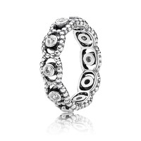 PANDORA | Her Majesty Stackable Ring, Clear CZ