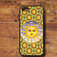 iPhone 5 Case, iPhone 4s Case, iPhone 4 Case, Samsung Galaxy S3-Silicone Rubber or Hard Plastic Case-Sun -ND025