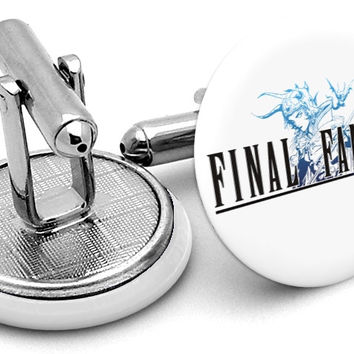 Final Fantasy Logo Cufflinks