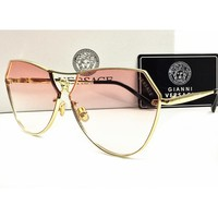 Perfect VERSACE Women Fashion Popular Summer Sun Shades Eyeglasses Glasses Sunglasses