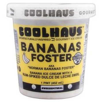 Coolhaus Bananas Foster Ice Cream - 1 Pint : Target