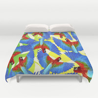 RIO PANTS PARTY Duvet Cover by Chrisb Marquez