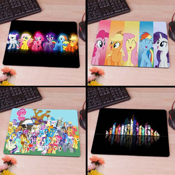 My Little Pony Computer Mouse Pad Mousepad Decorate Your Desk Non-Skid Rubber Pad tvs 80's