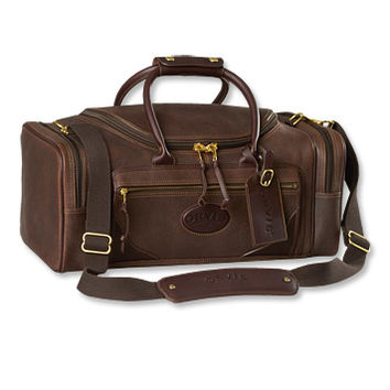 Bullhide Leather Carry-On Club Bag