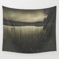 Dead fish dont swim Wall Tapestry by HappyMelvin