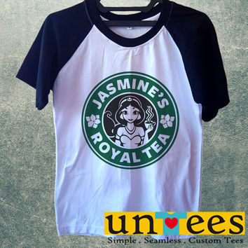 Jasmines Royal Tea Short Raglan Sleeves T-shirt