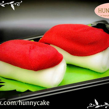 Salmon Sushi Socks
