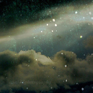 "30% OFF SALE Night Sky Surreal Art - 8x10 inch Photograph - ""At Tara In This Fateful Hour"""