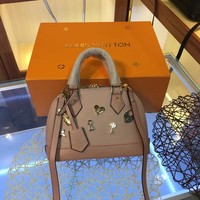LV Louis Vuitton EPI LEATHER LOVE LOCK ALMA HANDBAG SHOULDER BAG