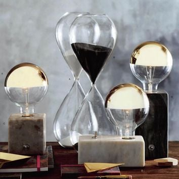 Graaff Marble Lamps by Roost – BURKE DECOR