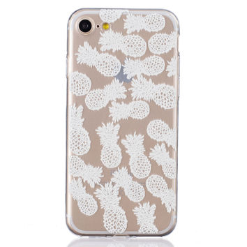 New Hollow Out Lace Pineapple iPhone 6 6s Plus & iPhone 7 7Plus & iPhone se 5s + Gift Box-82