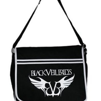 Black Veil Brides Rebel Logo Messenger Bag - Buy Online at Grindstore.com