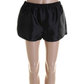 Harvey Faircloth Womens Silk/Wool Athletic Casual Shorts