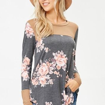 Sing For The Moment Floral Top