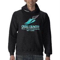 Cross Country Running Hoodies from Zazzle.com