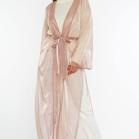 Future Looks Bright Duster - Rose Gold
