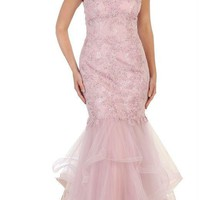 Long Homecoming Prom Dress Formal Wedding Gown Plus Size