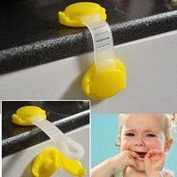 Safety Lock child Infant Baby Kids Toddler Fridge Drawer Door Cabinet Cupboard !
