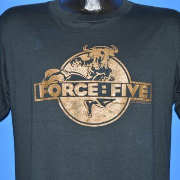 80s Force Five Movie 1981 t-shirt Large