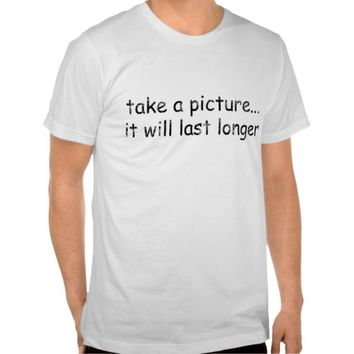 Mens fitted tshirt with funny quote
