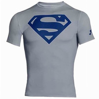 Under Armour Compression Superman | Gray