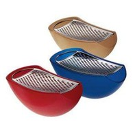 Alessi Parmenide Cheese Grater - Style # AARU01 AZ, Modern Cheese Graters, Contemporary Cheese Graters, Cheese Boards, Alessi, Iittala at SWITCHmodern.com