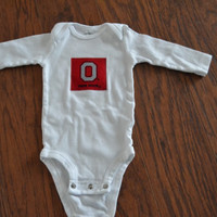 Cotton baby bodysuit Ohio State Longsleeved, Sports fan