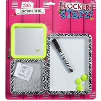 Green Zebra Locker Decoration Trio | Girls Cases & More Tech Accessories | Shop Justice