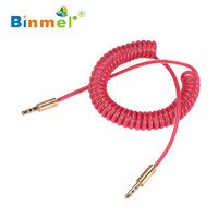 Hot selling Binmer 3.5mm Male to Male Aux Auxiliary Cord Stereo Audio Cable for PC Phone Car high Quality