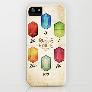 Legend of Zelda - Tingle's The Rupees of Hyrule Kingdom iPhone & iPod Case by Barrett Biggers