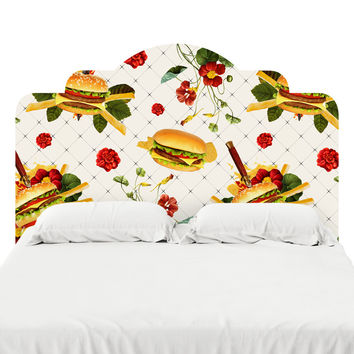 Cheeseburgers in Gangsta's Paradise  Headboard Decal