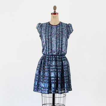vintage 80s mini dress / Mavinette dress