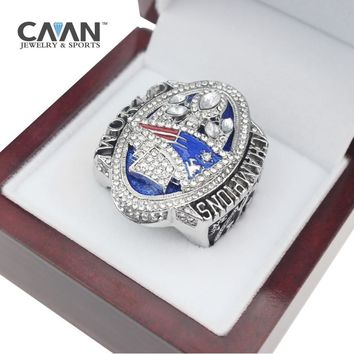 The Newest Official release 2017 New England ring Patriots MVP BRADY World Championship Ring Size 8 9 10 11 12 13