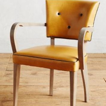 Premium Leather Promena Armchair by Anthropologie