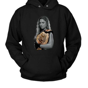 DCCKL83 Ronda Rousey Ufc Hoodie Two Sided
